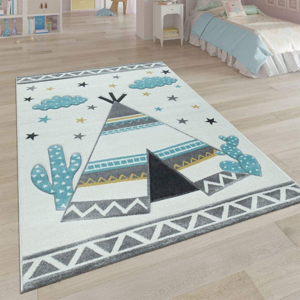 alfombra infantil niño indio